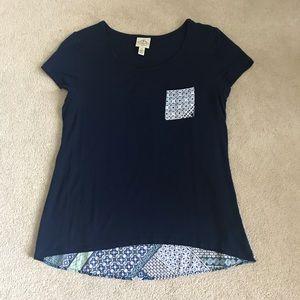 St. John's Bay High-Low Shirt
